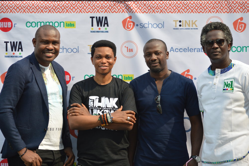 Influential Afropolitans at tink africa's open day