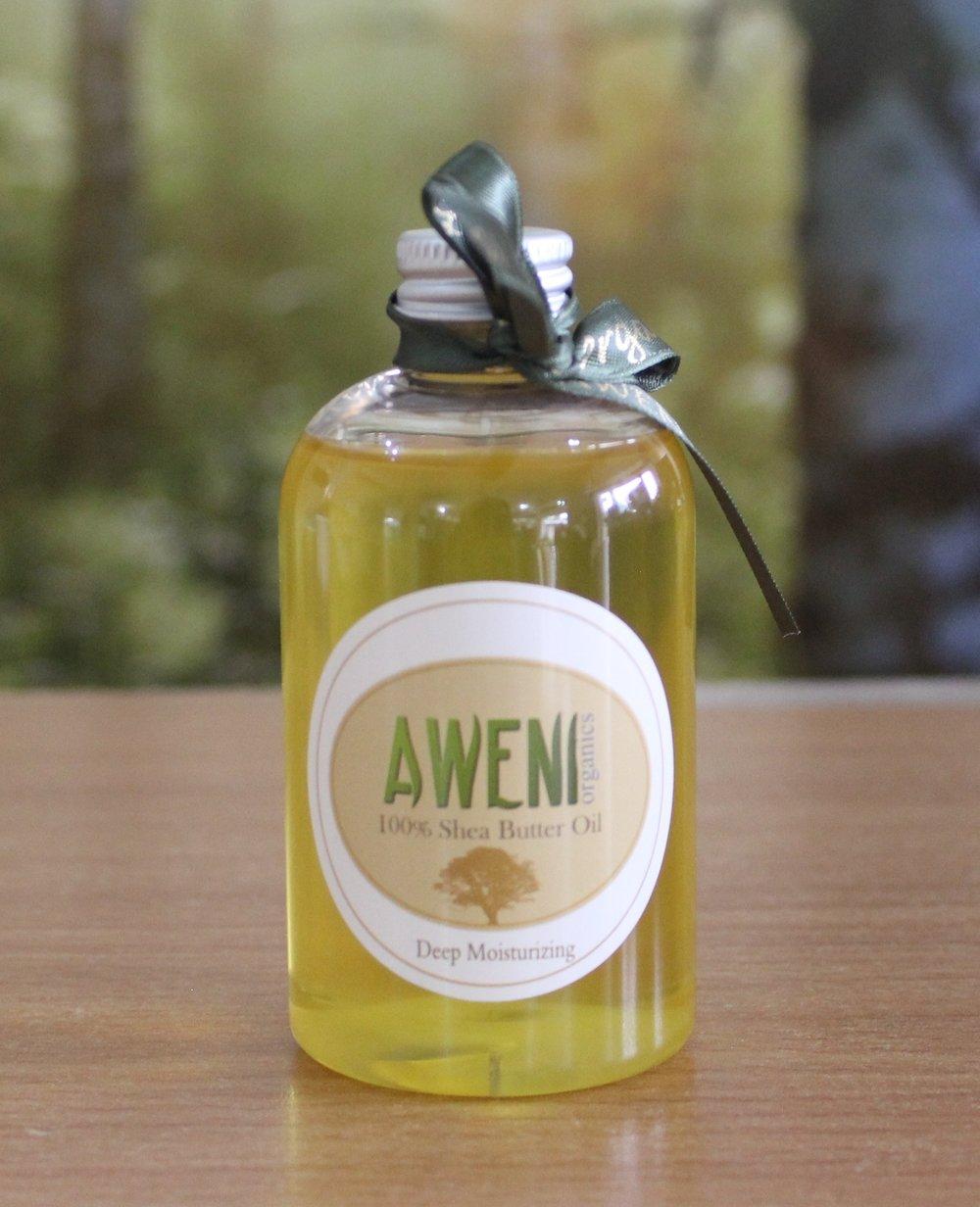 Shea butter oil by Aweni Organics