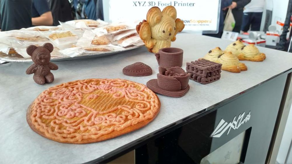 FOODS FROM THE 3D PRINTER