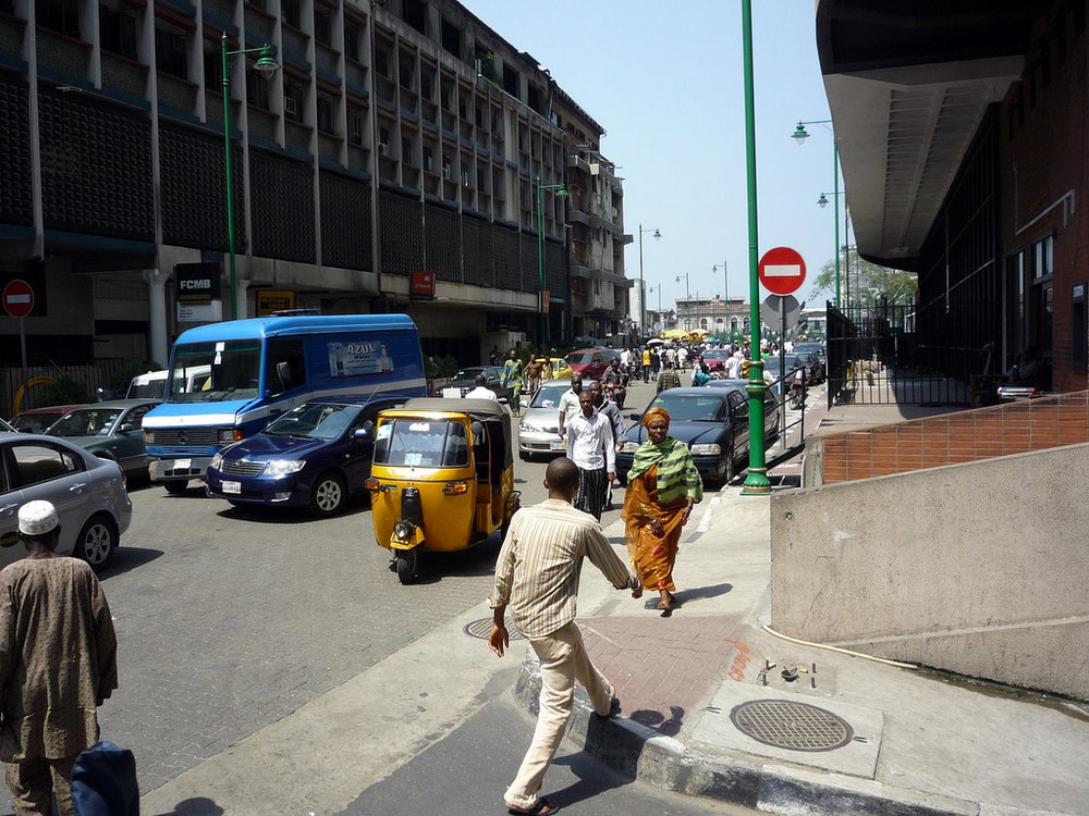 Public Tricycle (Keke Napep) Conveying Passengers in Lagos, Nigeria via Nairaland