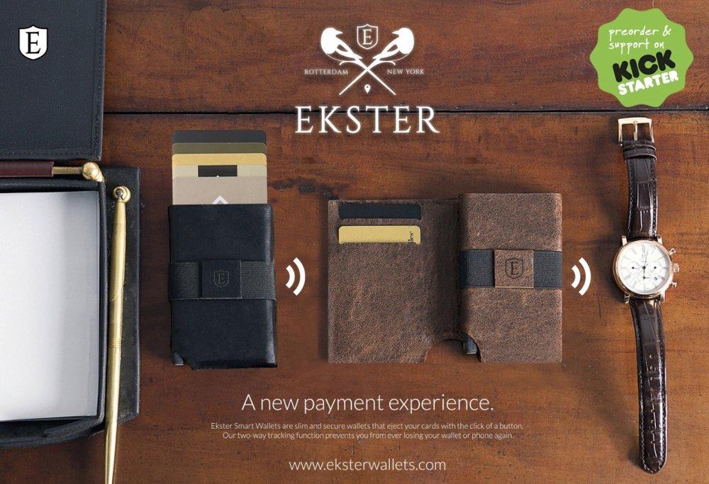 Ekster Wallet Ad Banner via ece.nl
