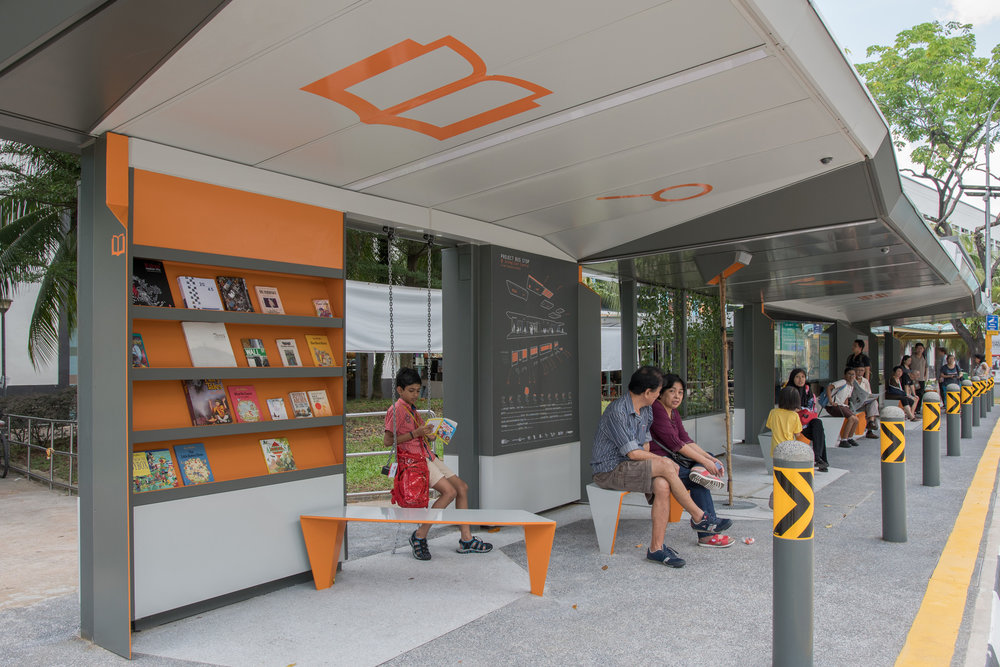 The Project Bus Stop, Singapore