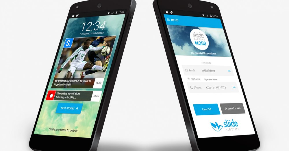 App interface // Photo via onbini.com