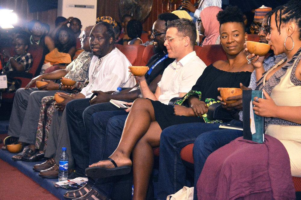 Panelists and Speakers at Ake Festival/ Via fcmb