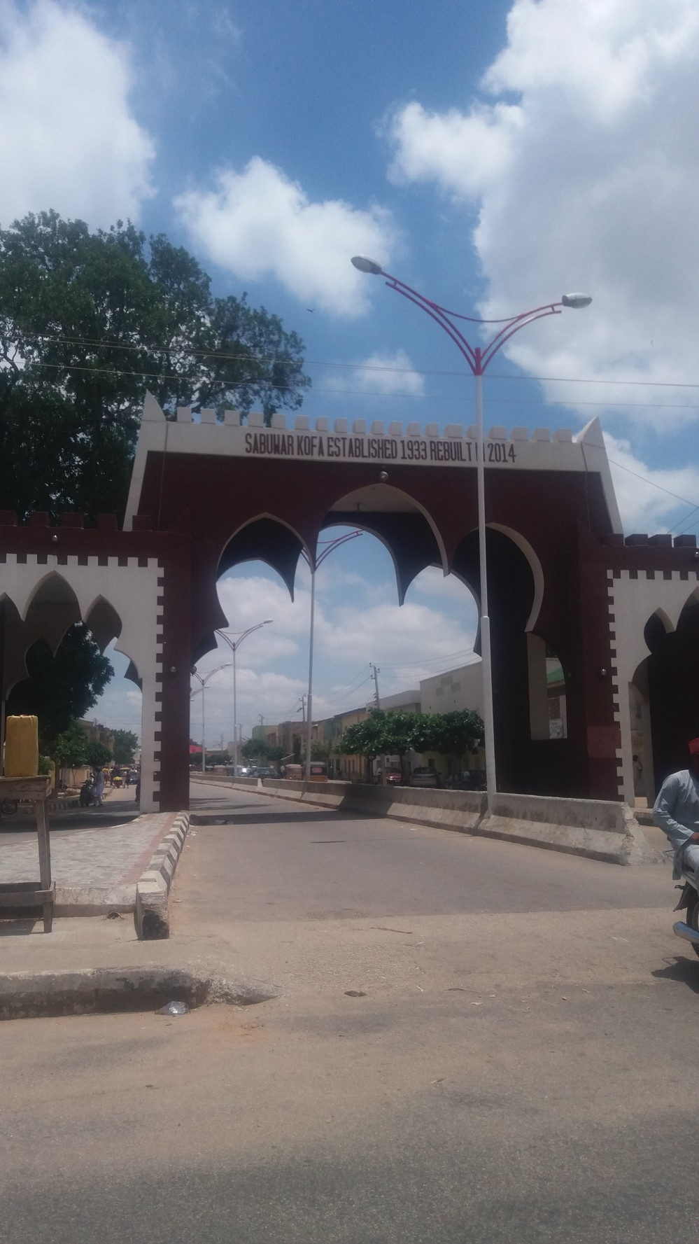 Sabuwar Kofa, one of the 17 gates leading into Kano town