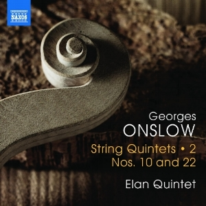 Elan Quintet's 2nd volume of the George Onslow String Quintet Cycle - released Sept 2017
