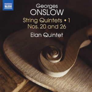 Elan Quintet's 1st volume of the George Onslow String Quintet Cycle - released September 2016