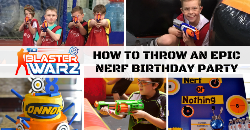 How to throw and epic nerf birthday party eastern indoor for How to throw a big party
