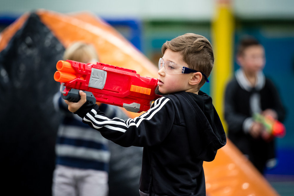 Nerf Warz - Casual Bookings, Kids Parties  and more!