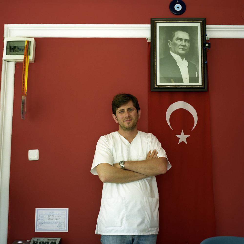 Young male nurse in Antalya, Turkey