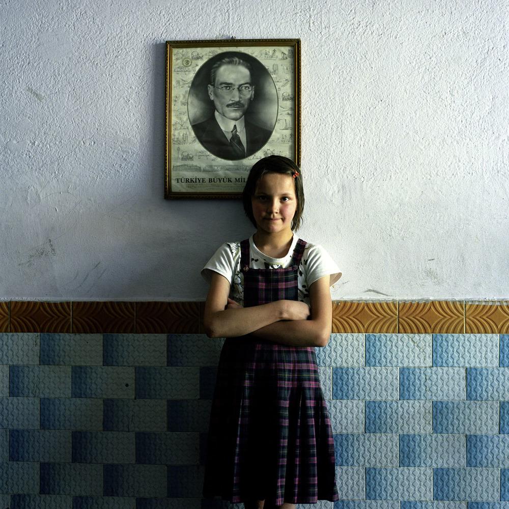 Schoolgirl in Kutahya, Turkey