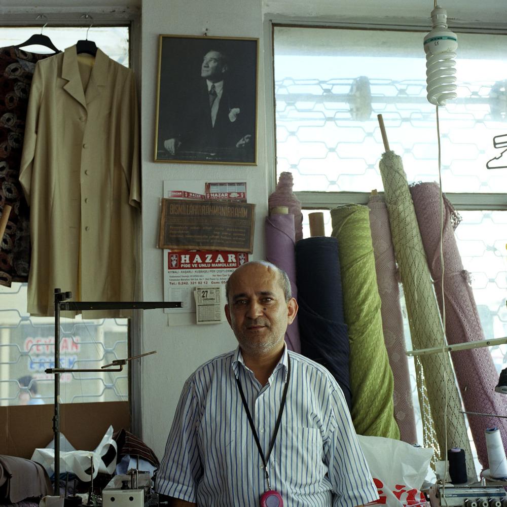 Tailor in Antalya, Turkey