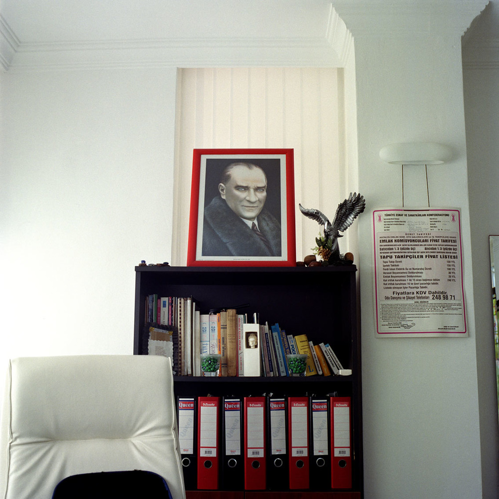 Estate agents office in Antalya, Turkey