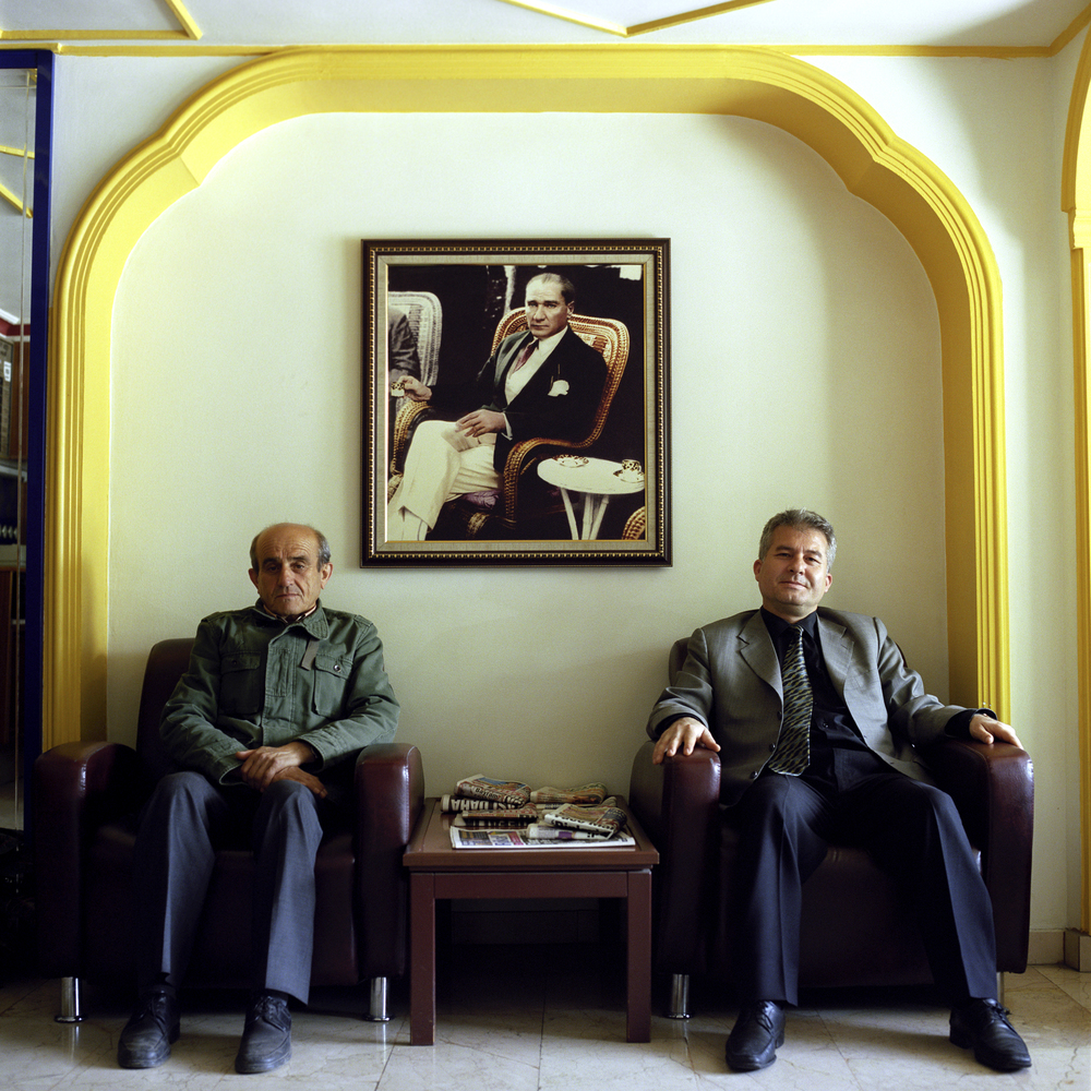 Hotel lobby in Isparta, Turkey