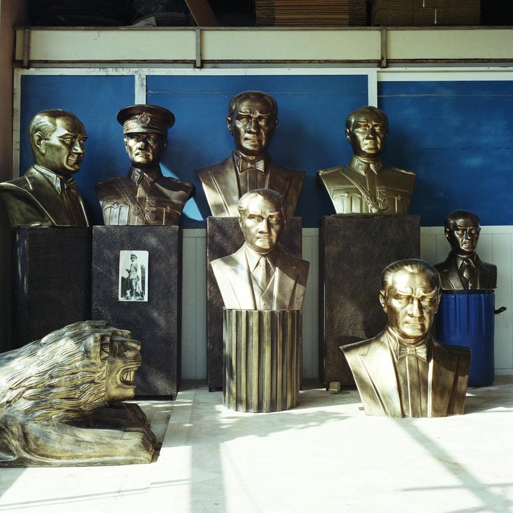 Statues of Ataturk in Istanbul, Turkey