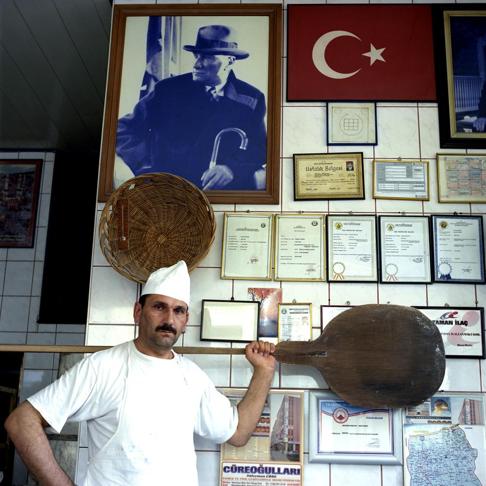 Baker in Vakfirbir, Turkey