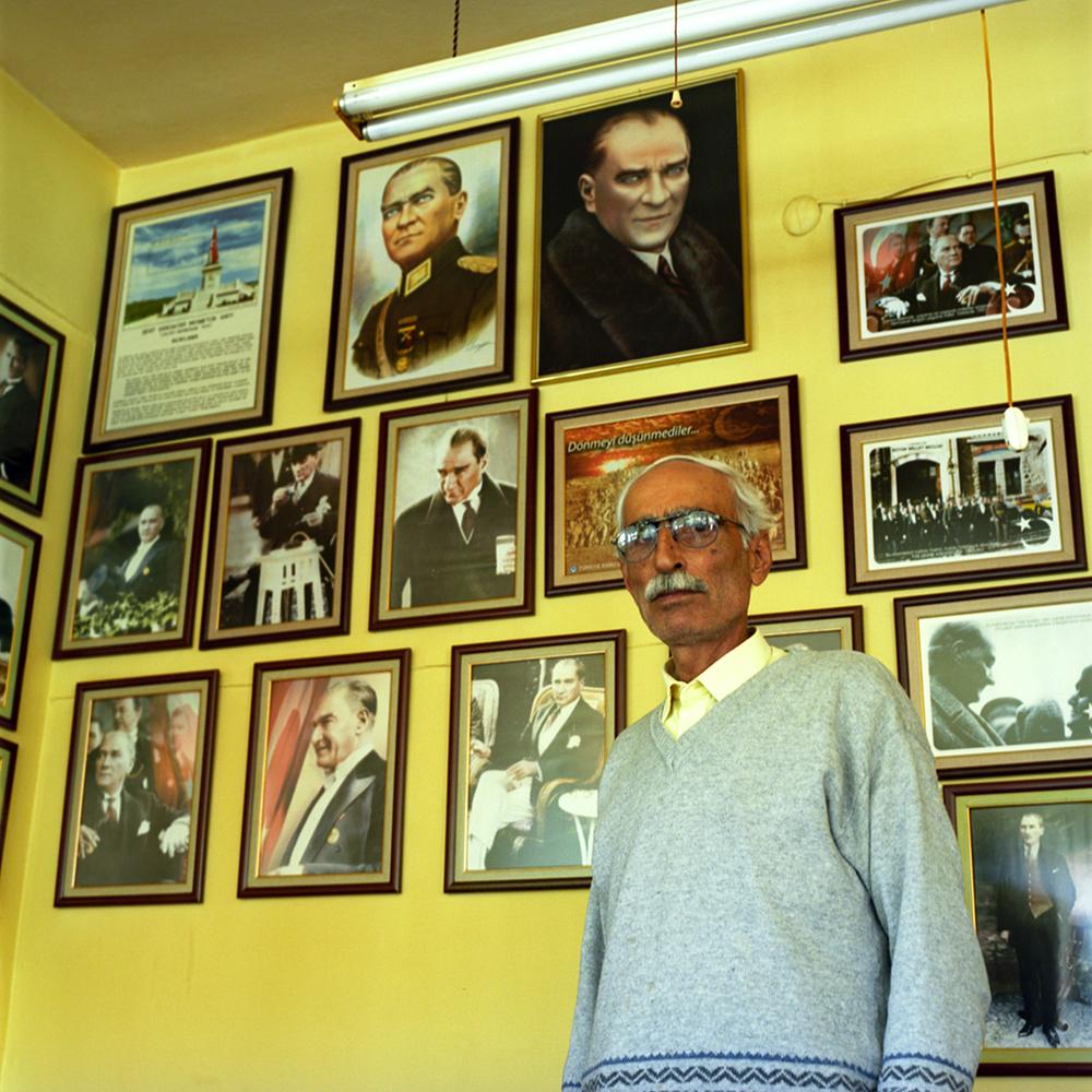 Coffee house in Eskisehir, Turkey