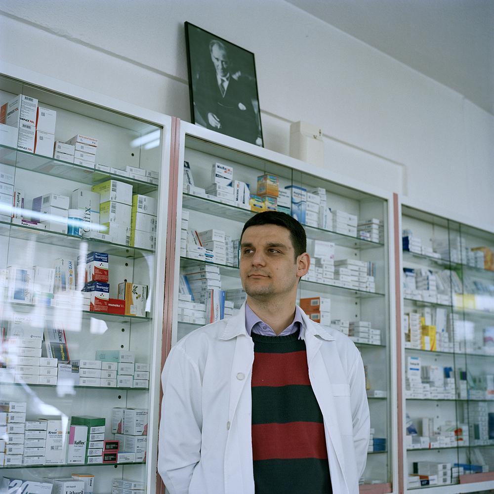 Pharmacist in Edirne, Turkey