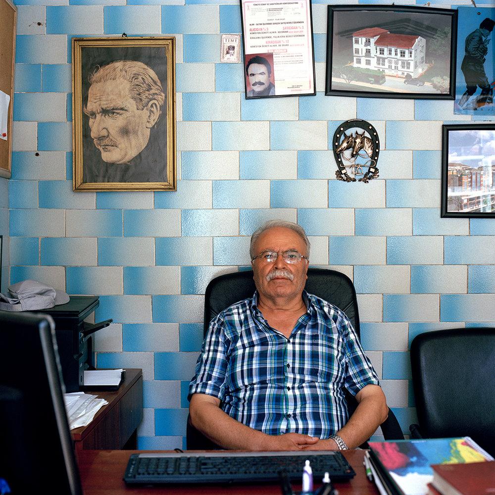 Estate agent in Istanbul, Turkey