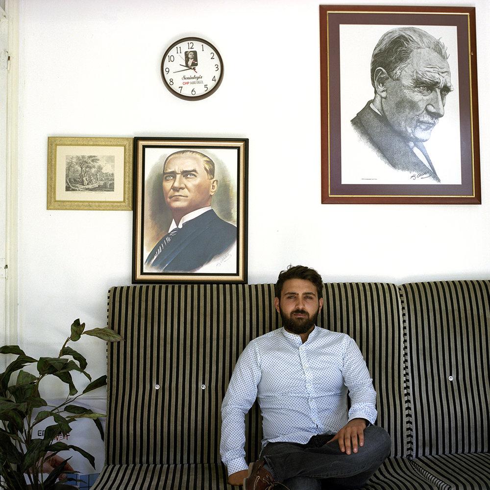 Restaurant manager in Izmir, Turkey