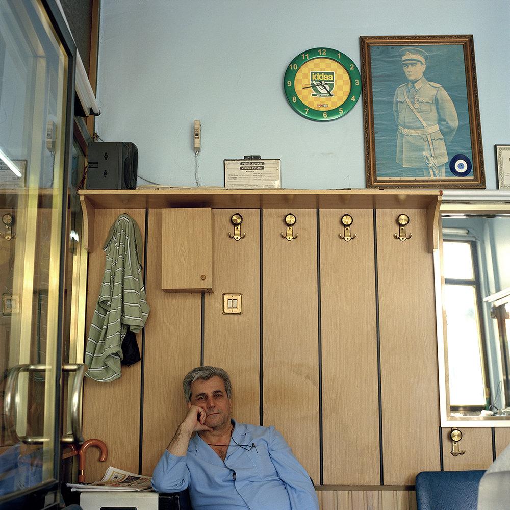 Barbershop in Istanbul, Turkey