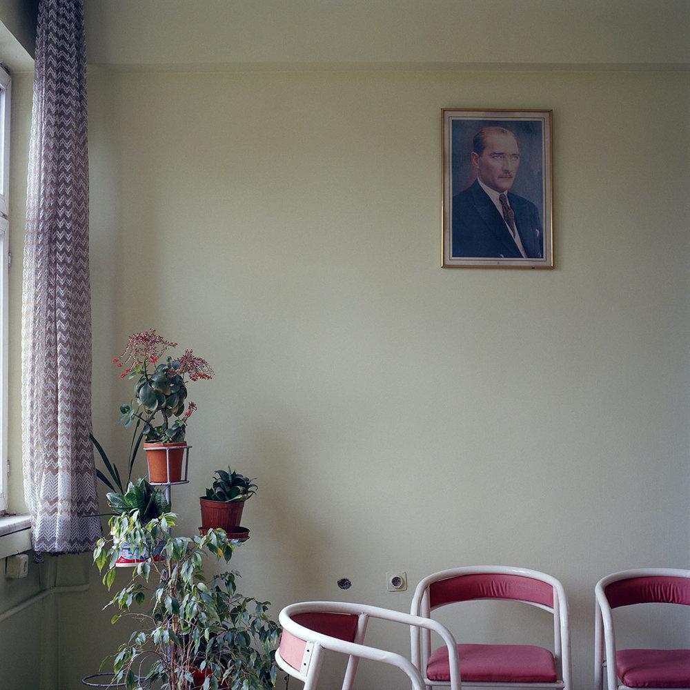 An office break room in Afyon, Turkey