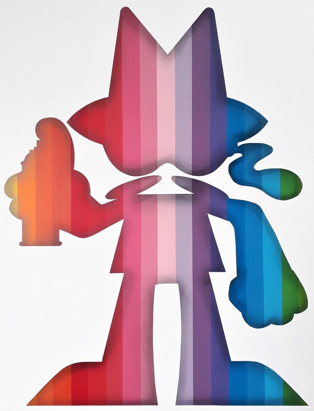 Rainbow Writer - SOLD