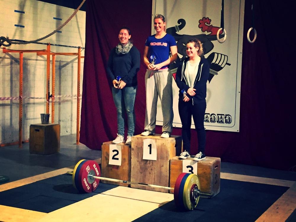Sieg im Zweikampf der Kategorie Gastheberinnen: Sonja Sommerhalder (Zurich Nord CrossFit)
