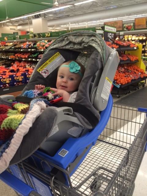 Cart docking seat