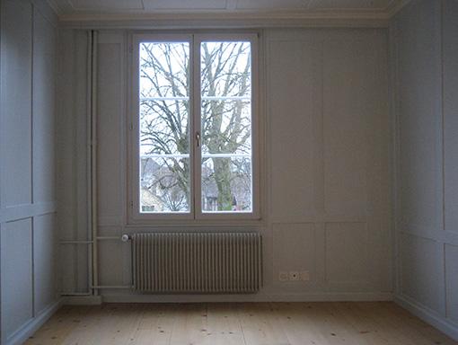 Zimmer neben dem Wohnzimmer