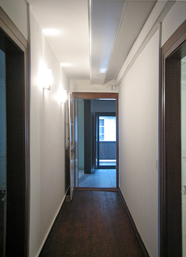 Korridor zur oberen Küche