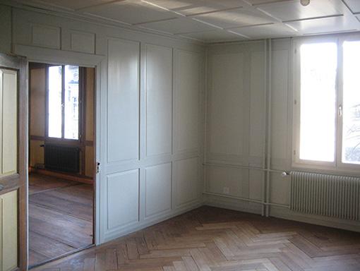 Zimmer neben Wohnzimmer