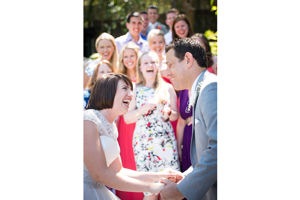 Niamh and David - Aisling did a wonderful job at our wedding in July 2014. From the moment she arrived she made me and the whole wedding party feel completely at ease. On the morning of the wedding she took some lovely photographs with the bride's family before heading off to get some photos of a nervous groom.Her attention to detail was exemplary. She captured some fabulous portrait photos of the bride and groom as well as taking some delightful spontaneous shots of us and our guests whilst remaining unobtrusive throughout.Aisling had a professional and lovely manner which made us feel completely at ease during the day. We were delighted with the quality of Aisling's photographs. Her creative style captured some lovely moments which we'll treasure forever. We still get many nice comments when we talk through our photos with friends, who comment on how great the photographs are. We couldn't recommend Aisling more highly. Thank you!
