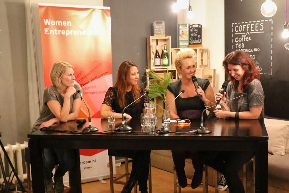 nov 2015 - talkshow global entrepreneurship week rotterdam foto door kern thompson