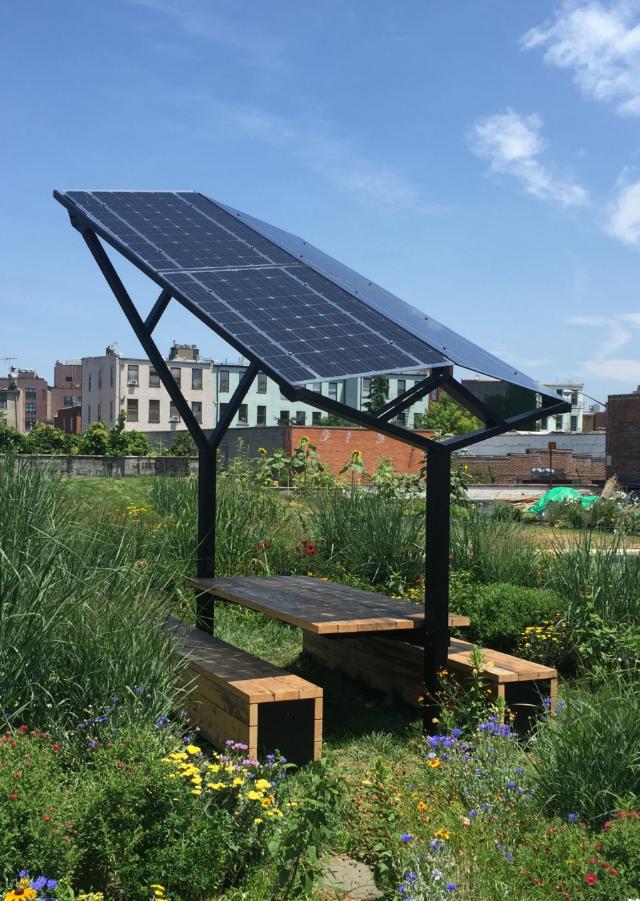 SOLAR OUTPOST Matthew Kovaleski - Solar picnic table