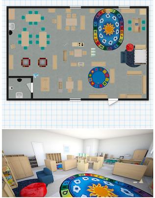Floorplanners meets kaplan early learning company for Kaplan floor planner