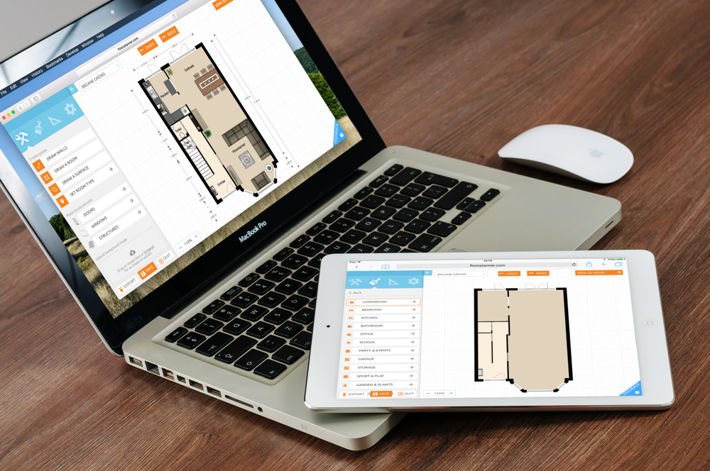 The new floorplanner editor blog for Www floorplanner