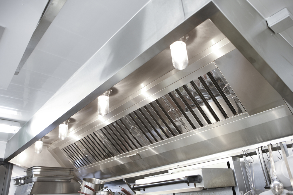 Commercial Kitchen Extraction Canopy