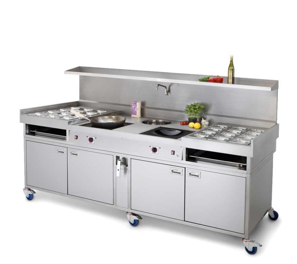 wok induction range