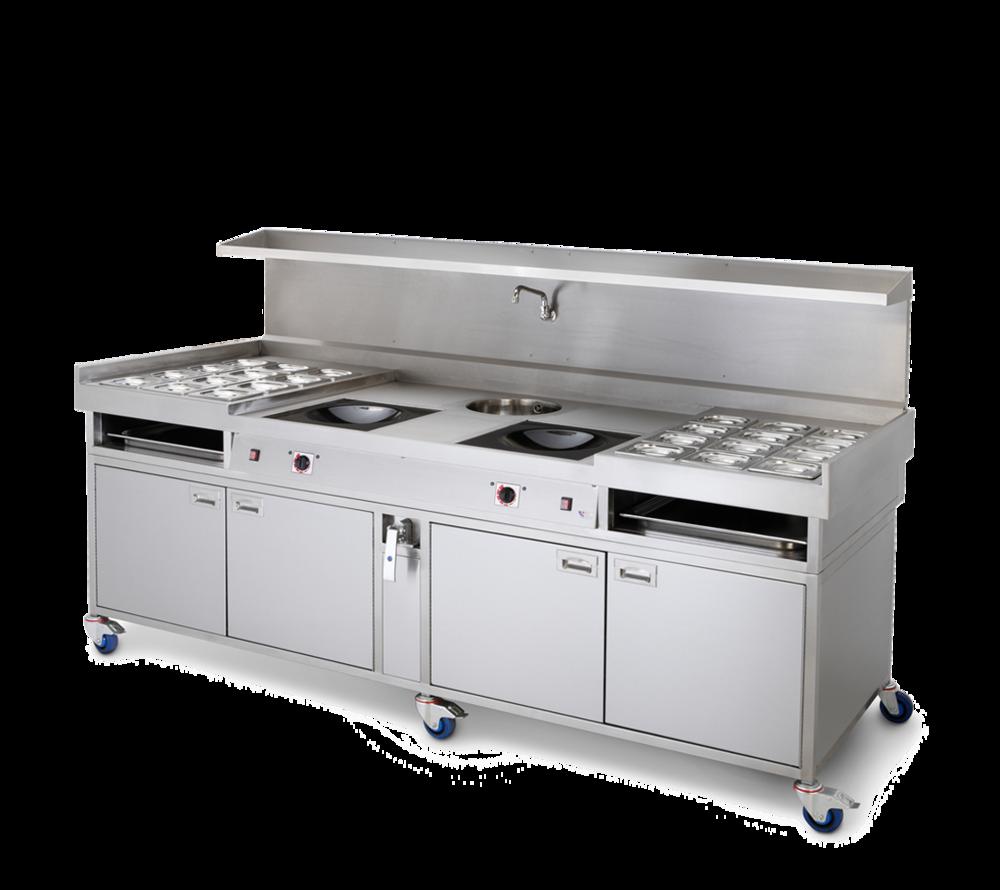 induction wok hob