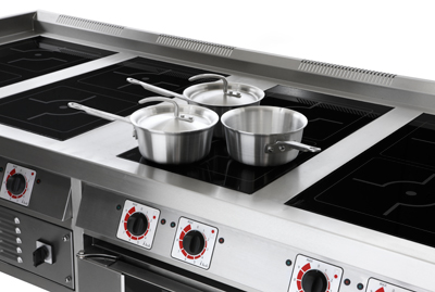 solid top induction hobs