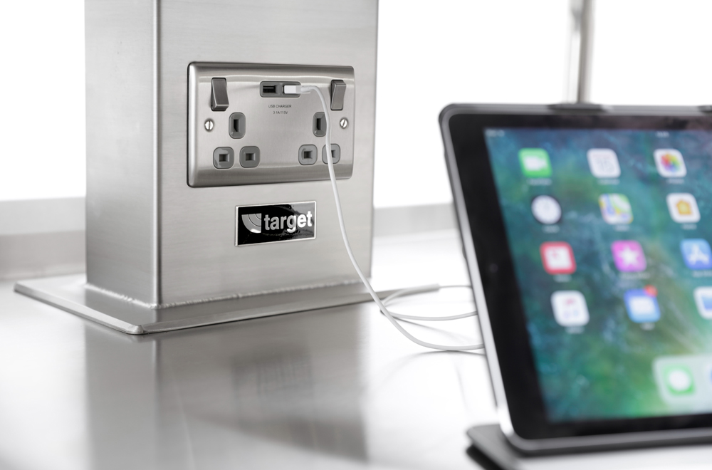 Induction Range USB Plug Outlet