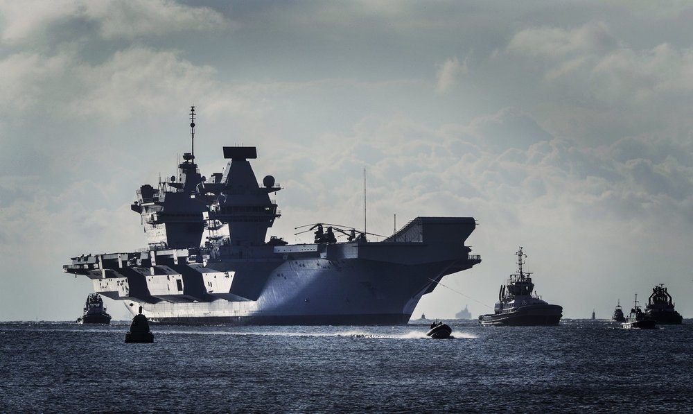 HMS Queen Elizabeth - Britain's Largest Warship