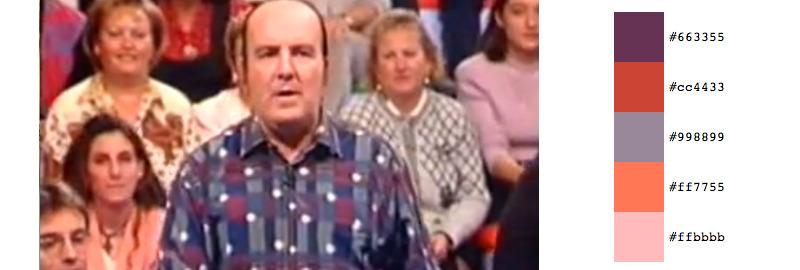 Genio y figura,presentado por el mago Pepe Carroll, posteriormente sustituido por el polifacético Bertín Osborne, y Las Virtudes después, Antena 3, 1994/95