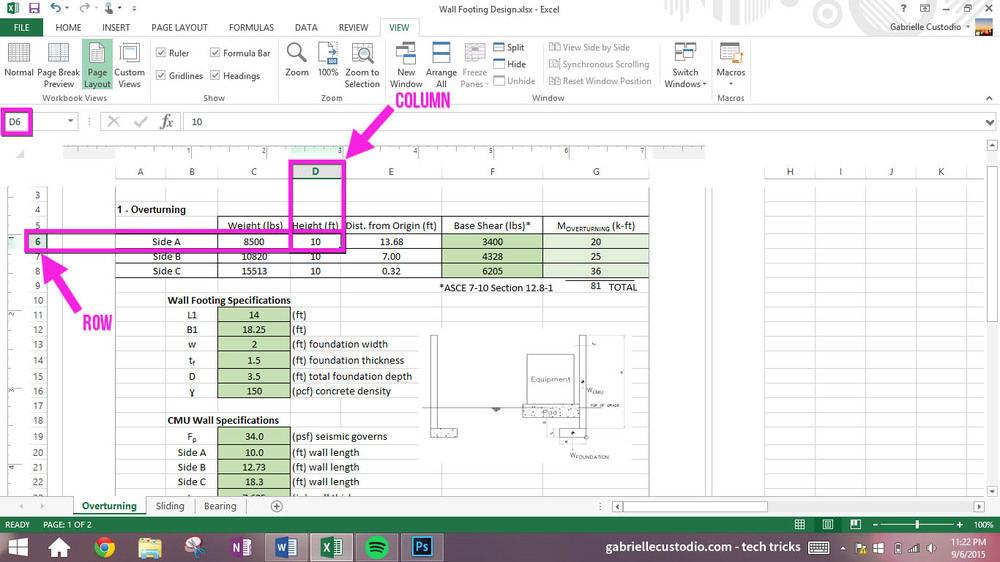 Excel: $$$ — GSC