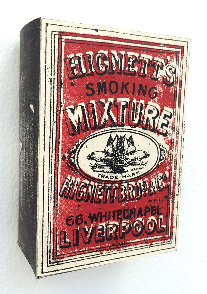 Stephanie Turnbull  (stunning constructed tobacco label printed from original litho plates)