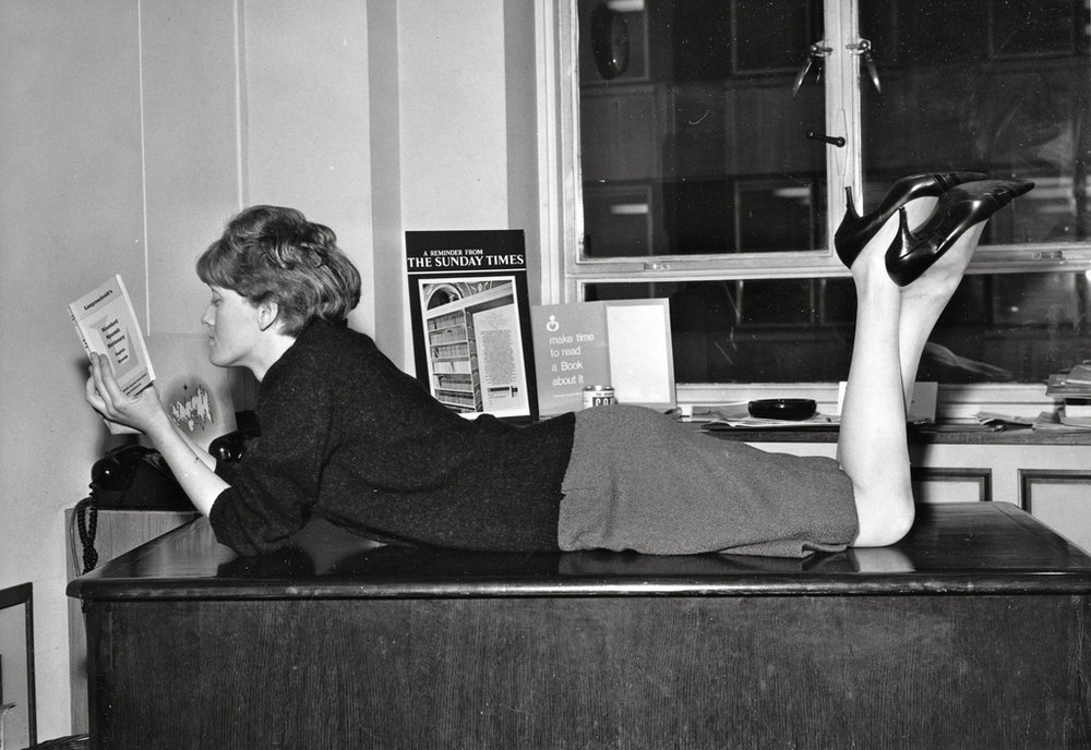 44. Girl in sexy office pose, ca. 1960s.jpg