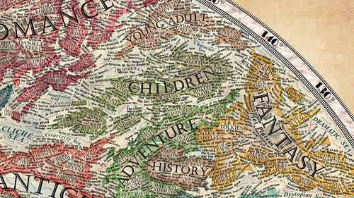 Halcyon Maps - Dystopian us map