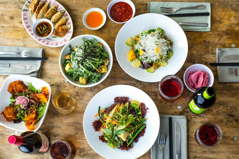 "Hey Hey Canteen, a Hong Kong-inspired restaurant in Park Slope, is billed as a place for ""elevated comfort food.""     PHOTO: WILL ENGELMANN"