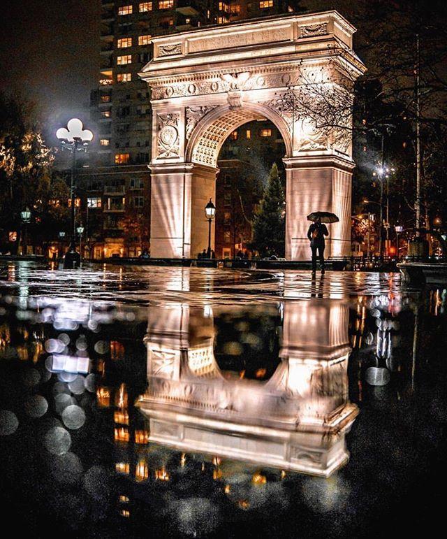 The most beautiful city in the world, even in the rain. The most beautiful city in the world, ESPECIALLY  in the rain!  #washingtonsquarepark, 📸212sid. . . . #ilovenewyork #newyorkcity #illtakemanhattan, #greenwichvillage, #nyc, #nycphotographer #instayork, #bookstagram, #travel, #citygirl, #manhattan #newyorkuniversity, #newforkcity, #thrillist, #eeeeeater, #photos, #newyorkworld, #travelphotography #travellingthroughtheworld